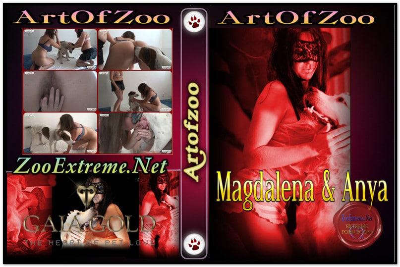 ArtOfZoo DVD - Magdalena & Anya - Hot Scenes Zoo Porn