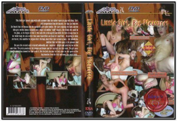 Animal Series 24 - Little Girl Big Pleasures