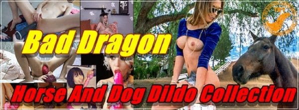 Bad Dragon - Horse And Dog Dildo Collection