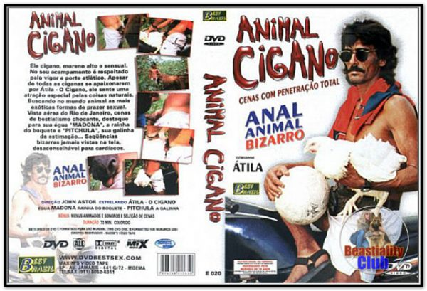 Best Brazil - Animal Cigano - Anal Animal Bizarro