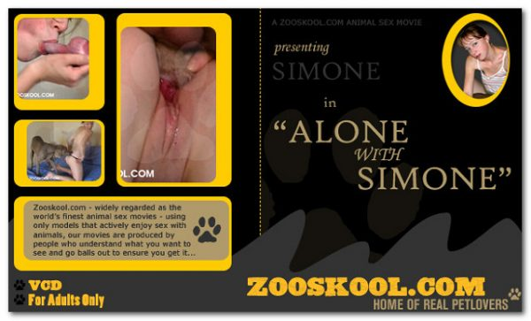 Home Of Real PetLover - Simone Alone With Simone