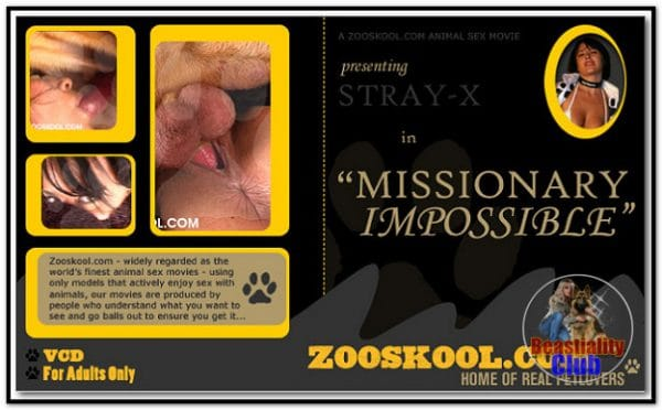 Home Of Real PetLover - Strayx Missionary Impossible