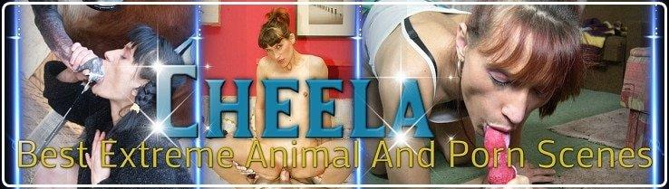 Cheela -  Animal Sex Porn Star