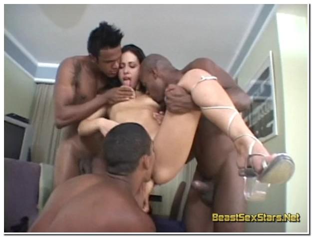 Monica Mattos - 3 Black Dicks