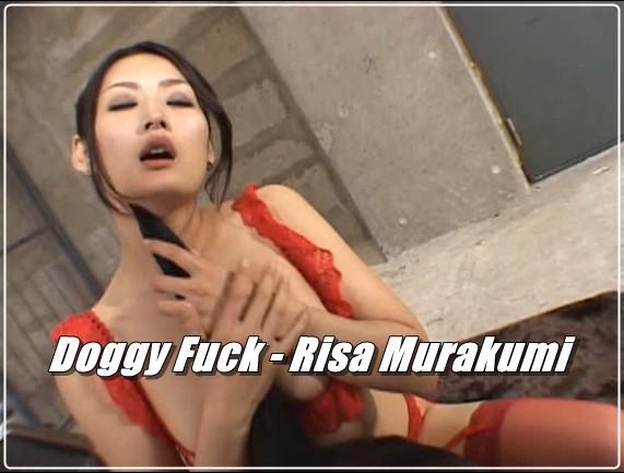 Doggy Fuck - Risa Murakumi