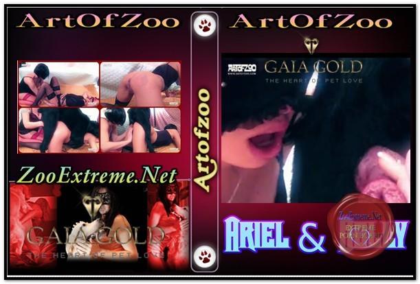 ArtOfZoo DVD - Ariel & Dolly - Hot Scenes Zoo Porn