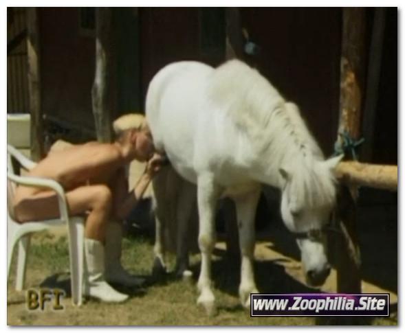 First Girl Then Pony - Violetta Rossellini - The Dirty Bitch (Violett) - Animal Sex Scenes